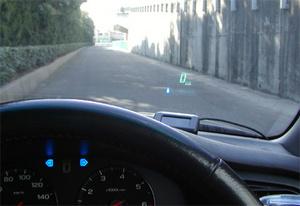 車にデジタルスピードメーターを取り付け