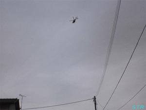 坂出回生病院でヘリの離着陸を目撃