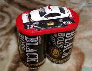 缶コーヒーに付いてきたパトカーのミニカー