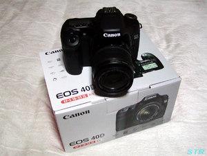 デジタル一眼レフカメラ CANON EOS40D 買いました