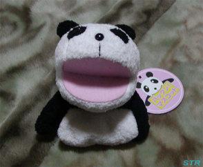 ゲットしたパンダのパックンマスコット