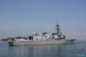 海上自衛隊の護衛艦を見てきました