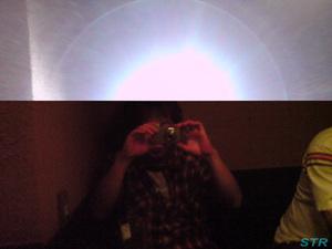 携帯のカメラで撮った写真が・・・