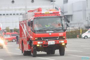 高松市消防出初式に行ってきました