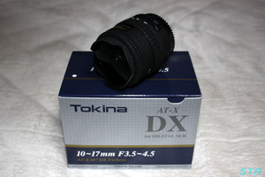 Tokina AT-X 107 DX Fisheye 購入
