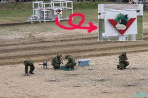 模擬戦闘訓練準備中