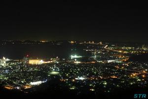 坂出番の州方面の夜景