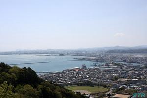 日峯大神子広域公園からの眺め