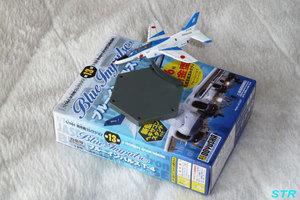 ブルーインパルスT-4の模型