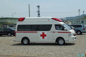 防府基地の救急車