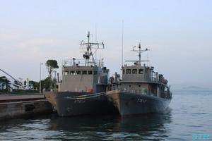 海上自衛隊 練習船 YTE12・YTE13