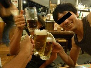 中学同級生と飲み会