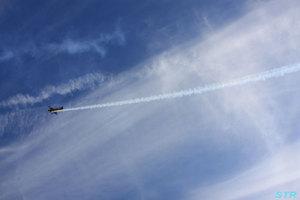 さかいで塩まつり2011 ウイスキーパパ展示飛行
