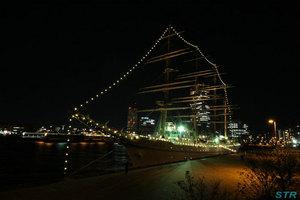 海王丸イルミネーション in サンポート高松