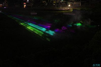 光と音楽のオーロラショー