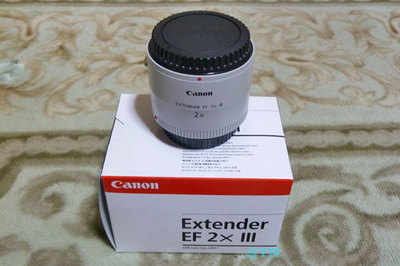 Canon EXTENDER EF2xIII 購入