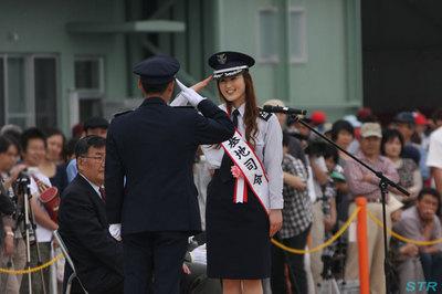 防府航空祭2012の一日基地指令は青木さやかさん