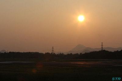 高松空港で鶴丸を見る