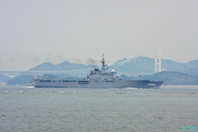 海上自衛隊 輸送艦しもきた