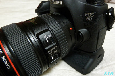 EOS6D用バッテリーグリップ