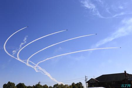 岐阜基地航空祭2013 ブルーインパルス前日予行