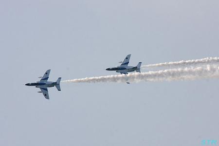 瀬戸内水軍まつりin尾道 ブルーインパルス展示飛行