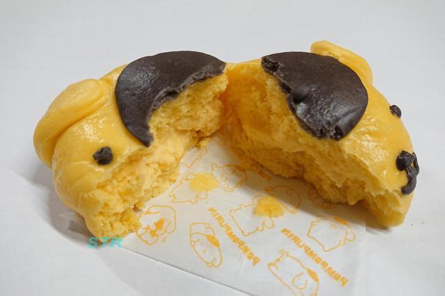 ローソンのポムポムプリンまんカスタードクリーム味