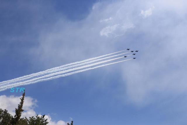 瀬戸大橋開通30周年記念 ブルーインパルス展示飛行