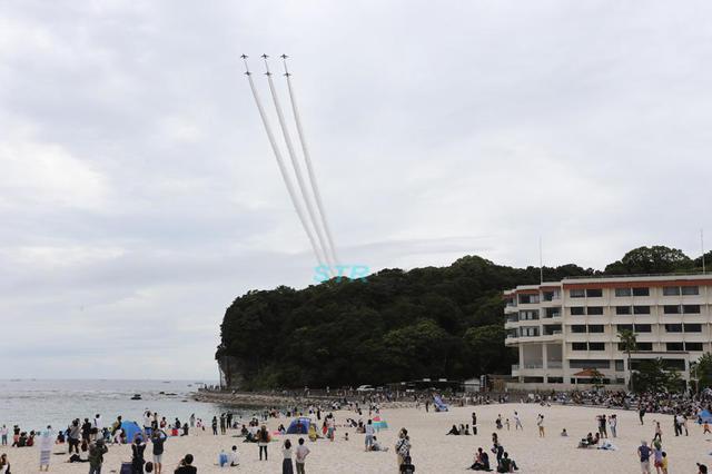 南紀白浜空港開港50周年記念 ブルーインパルス展示飛行