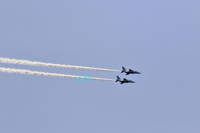 尾道港開港850周年記念 ブルーインパルス展示飛行