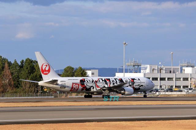 JAL 特別塗装機「JALドリームエクスプレス90」