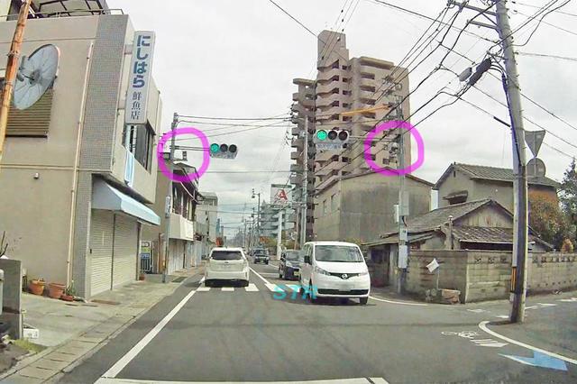 高松市上福岡町 県道43号線のNシステム