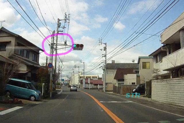 高松市高松町 県道155号線のNシステム