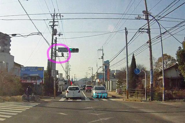高松市国分寺町新名 県道39号線のNシステム