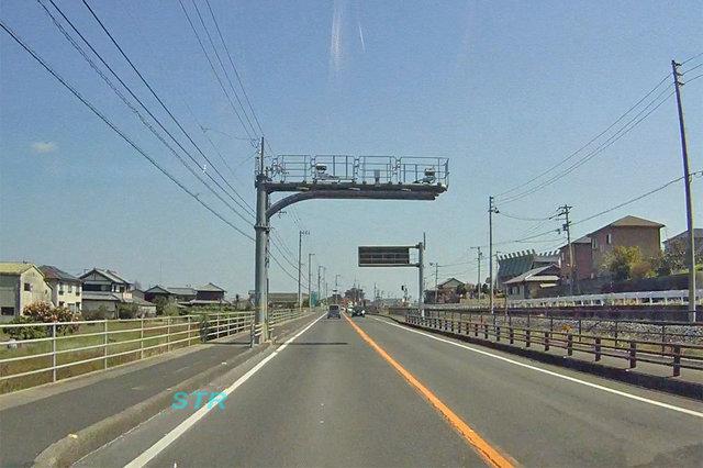 さぬき市津田町鶴羽 国道11号線のNシステム