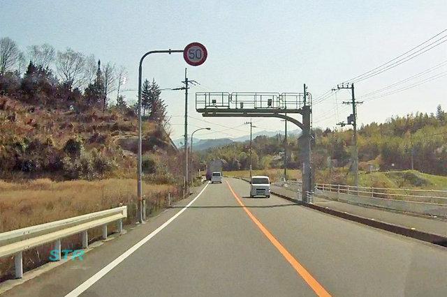 高松市西植田町 県道13号線のNシステム
