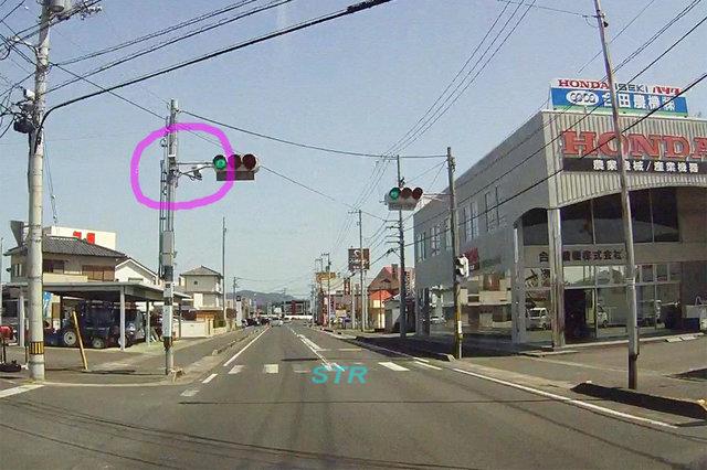 観音寺市吉岡町 県道237号線のNシステム