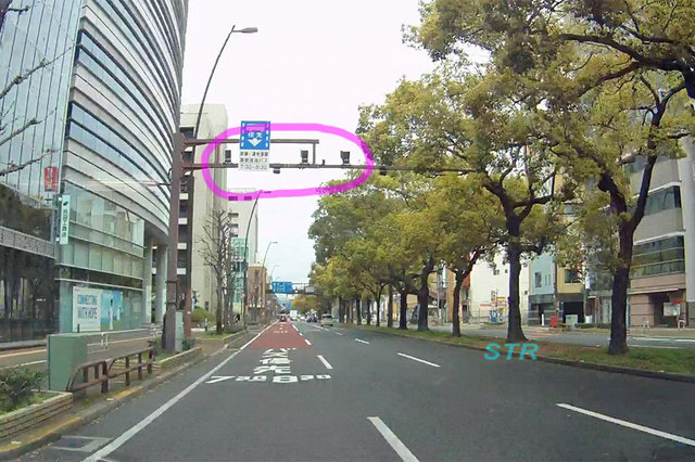 高松市天神前・亀井町 国道11号線のNシステム