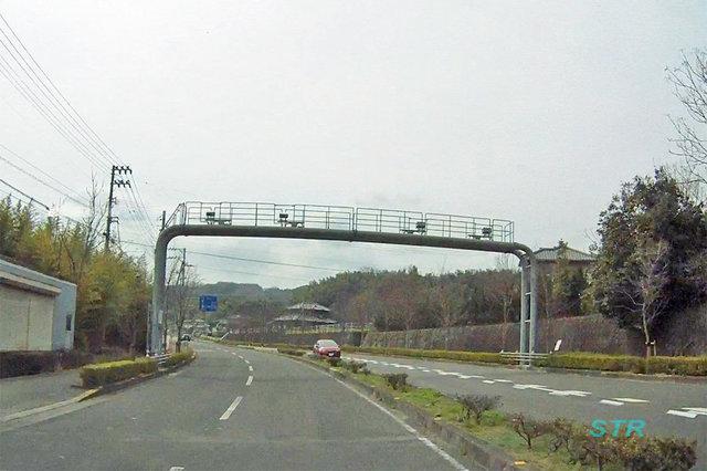 高松市香川町安原下第3号 国道193号線のNシステム