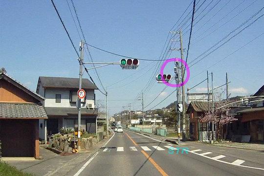 さぬき市造田宮西 県道3号線のNシステム