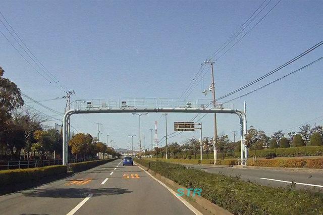 多度津町堀江5丁目 県道21号線のNシステム