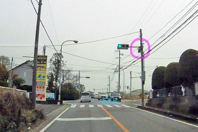 高松市香南町西庄 県道13号線のNシステム