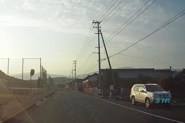 三豊市山本町大野 県道226北向き車線 山本小学校前での可搬式オービスによる取締り