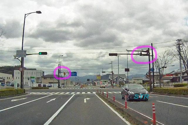 高松市林町 県道43号線のNシステム
