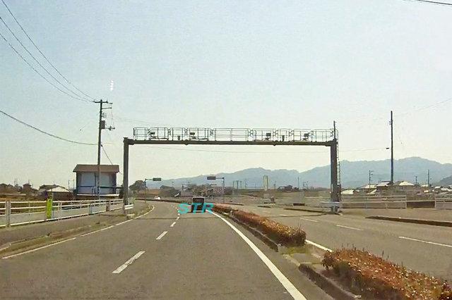 高松市十川東町 県道10号線のNシステム