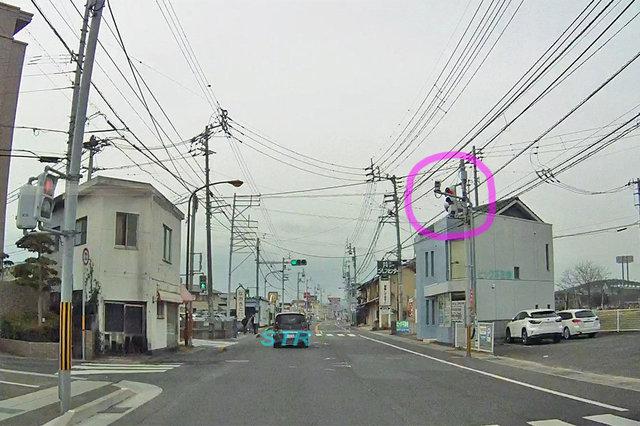 丸亀市田村町 県道33号線のNシステム