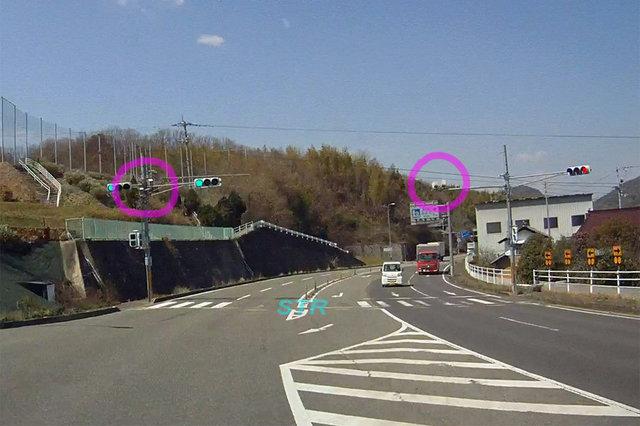 さぬき市大川町田面 県道10号線のNシステム