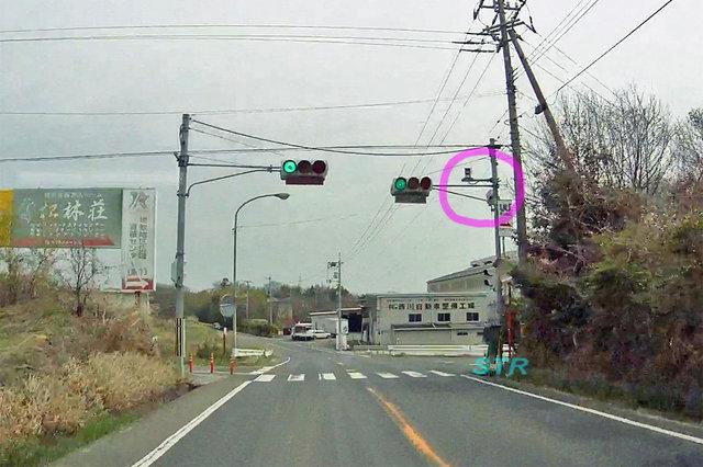 綾川町山田下 県道278号線のNシステム