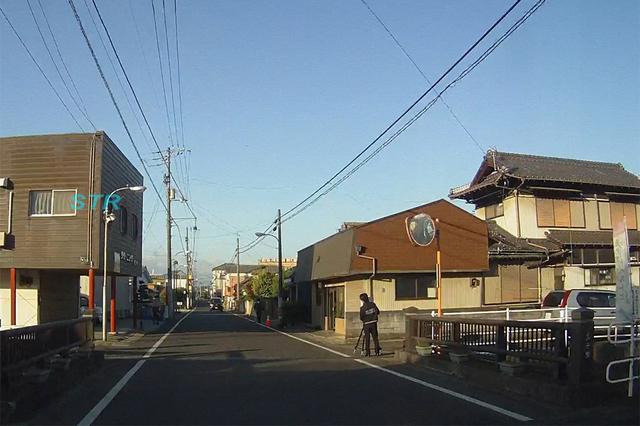 三豊市高瀬町 高瀬駅西側での可搬式オービスによる速度違反取締り