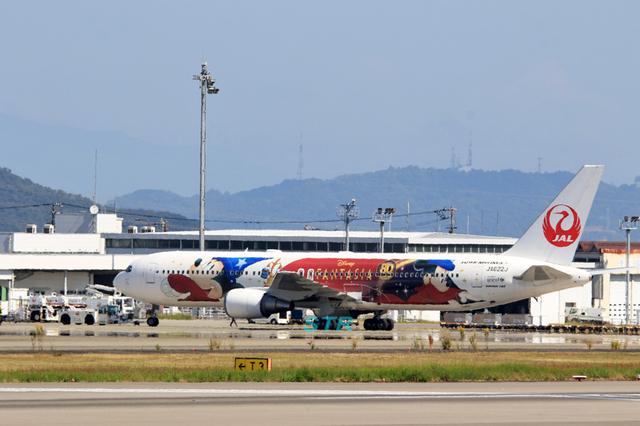 JAL特別塗装機「ドリームエクスプレスファンタジア80」